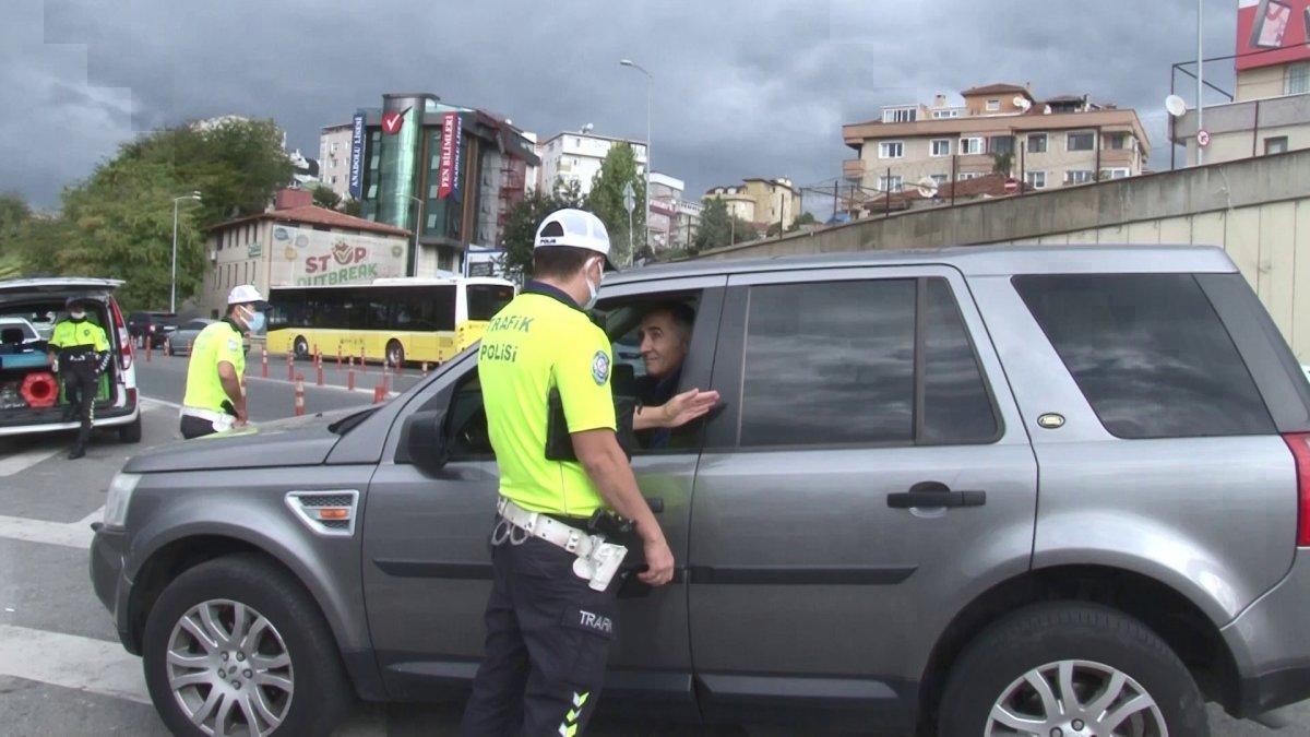 İstanbul da çakarlı araçlara denetim #2