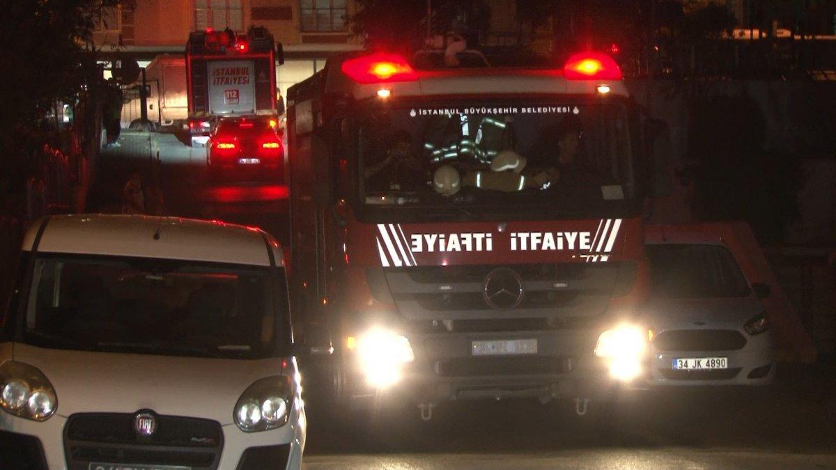 İstanbul'da çıkan yangın söndürüldü