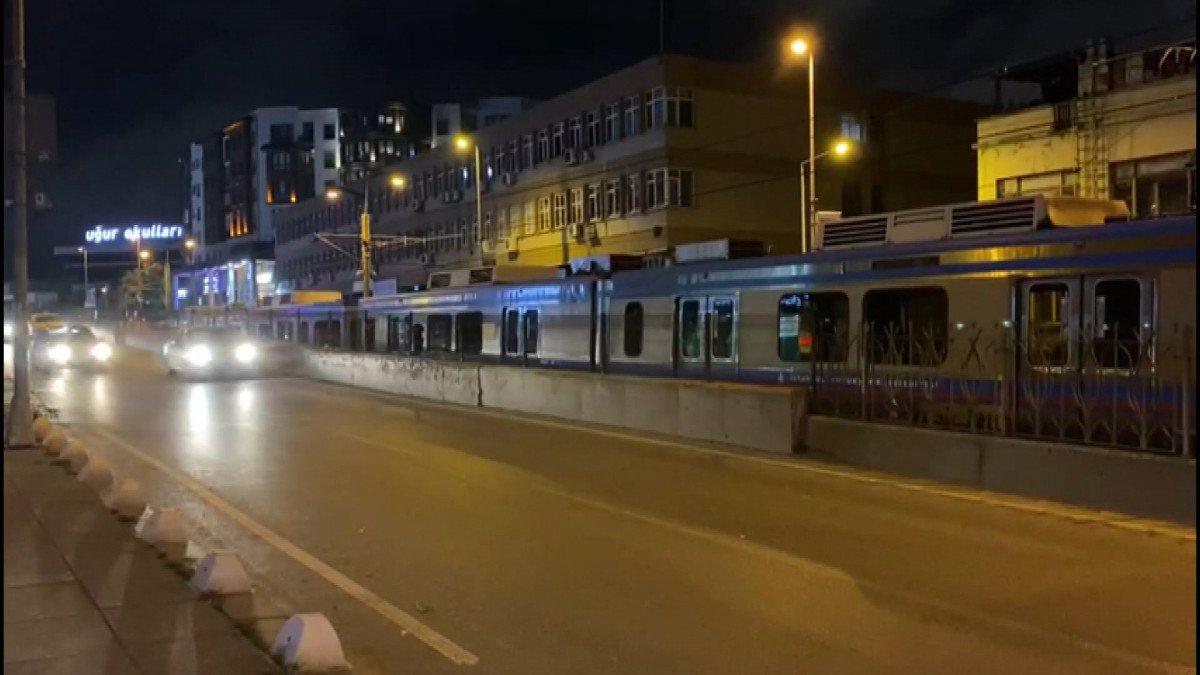 İstanbul da tramvay elektrik kablolarında arıza: Şehitlik Durağı kapatıldı #1