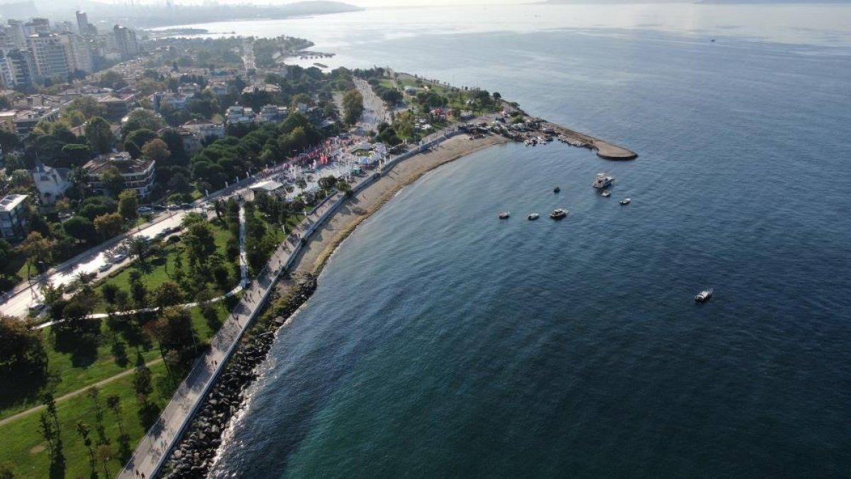 İstanbul sahillerinin müsilajdan arındığı gözlemlendi #1