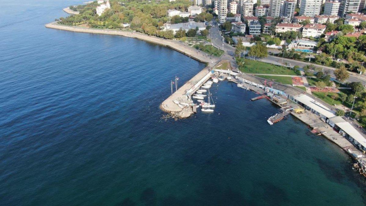 İstanbul sahillerinin müsilajdan arındığı gözlemlendi #2
