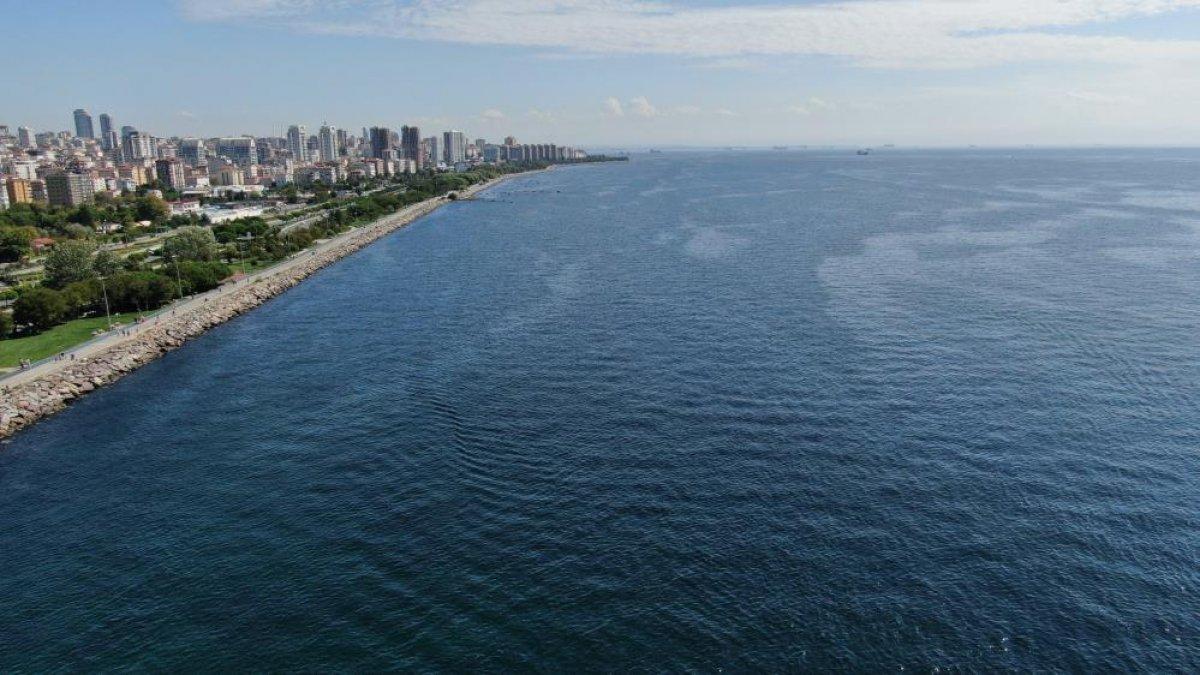 İstanbul sahillerinin müsilajdan arındığı gözlemlendi #5
