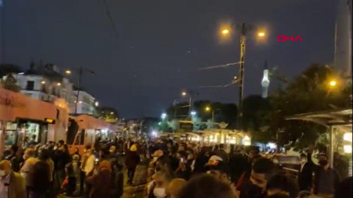 İstanbulların iş çıkışı toplu taşıma çilesi #1