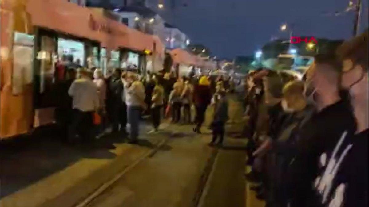 İstanbulların iş çıkışı toplu taşıma çilesi #3