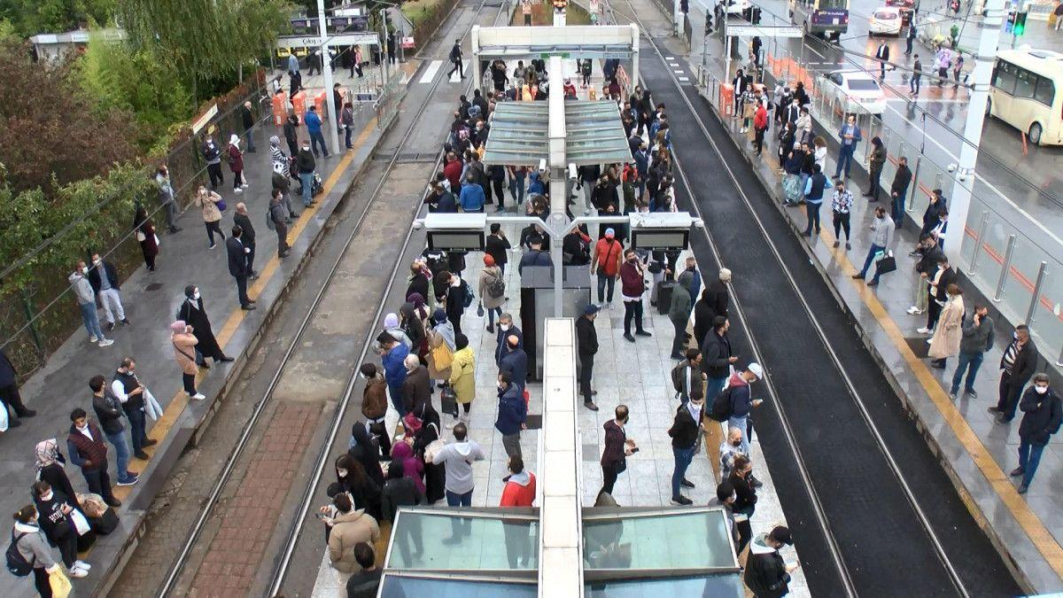 İstanbulların iş çıkışı toplu taşıma çilesi #5