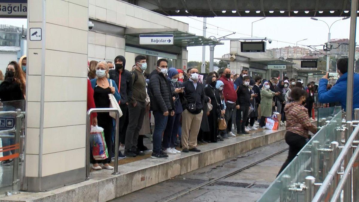 İstanbulların iş çıkışı toplu taşıma çilesi #6
