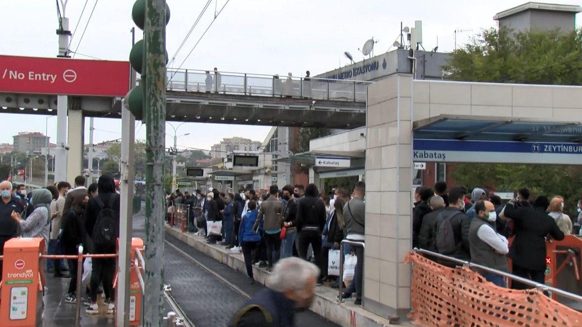 İstanbulların iş çıkışı toplu taşıma çilesi #7