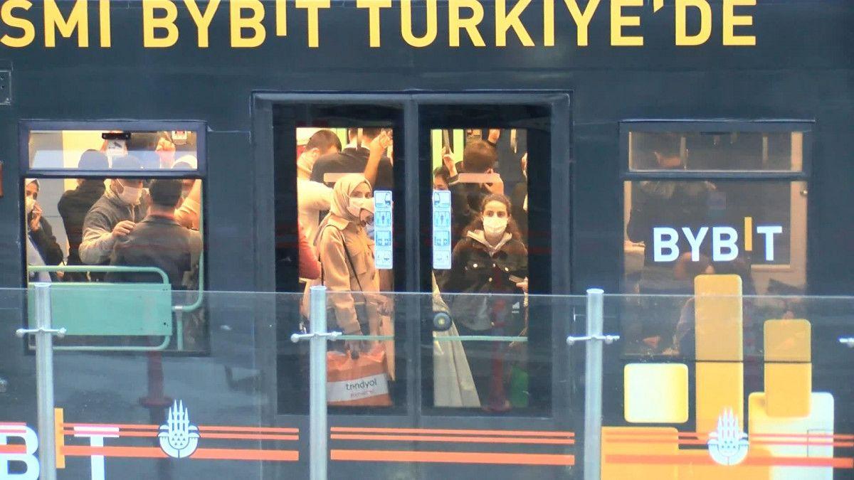 İstanbulların iş çıkışı toplu taşıma çilesi #8