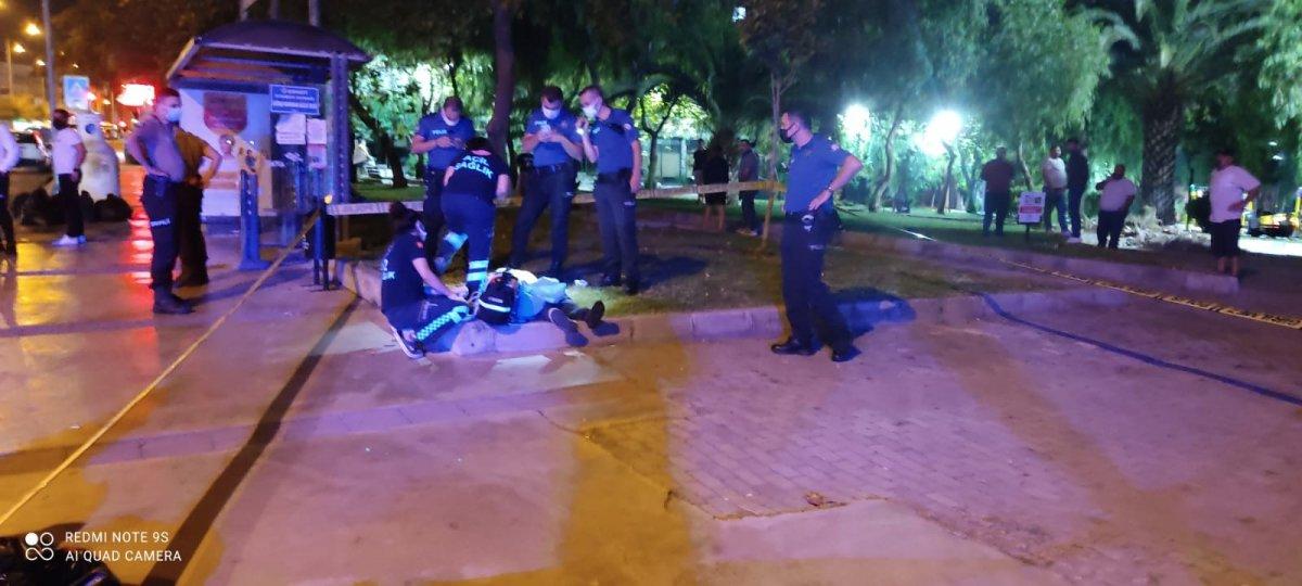 İzmir de bulunan bir parkta ceset bulundu #1
