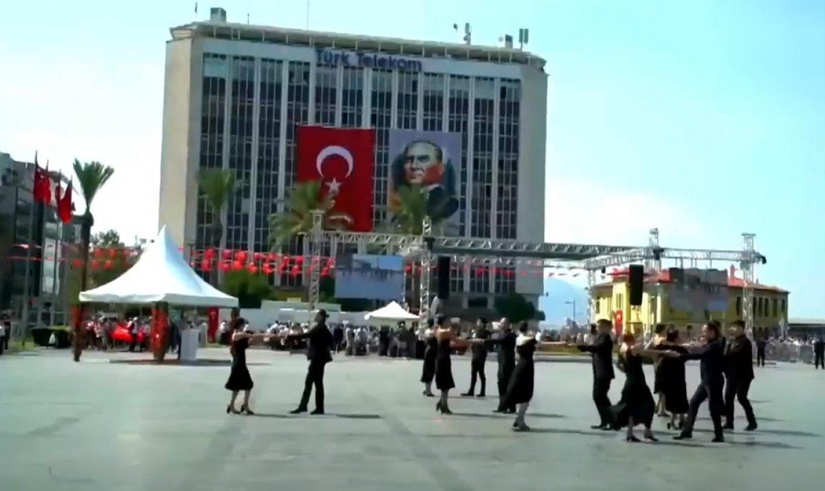 İzmir'in düşman işgalinden kurtuluşuna vals ile kutlama #6