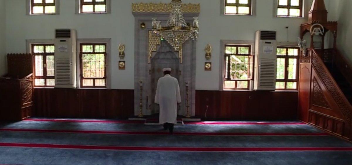 Kağıthane deki camide bu kez musluk değil cübbe çalındı #5