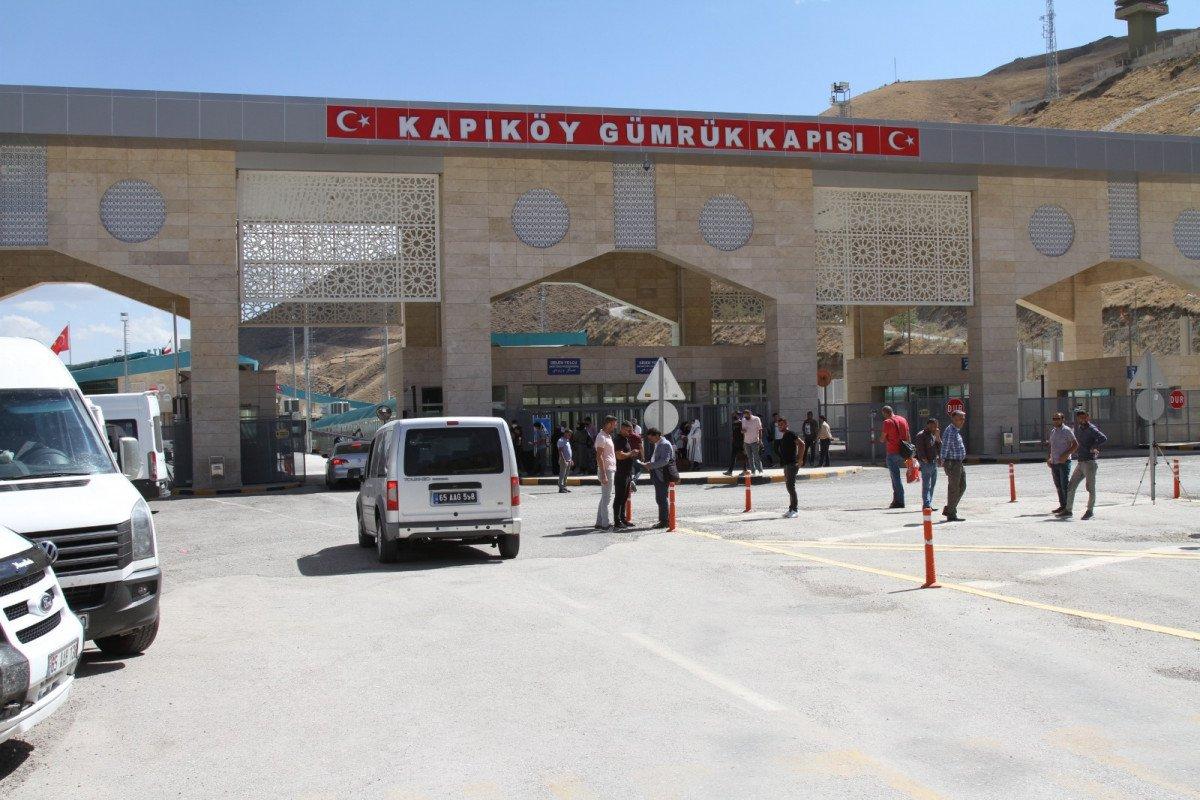 Kapıköy Gümrük Kapısı çift taraflı açıldı #6