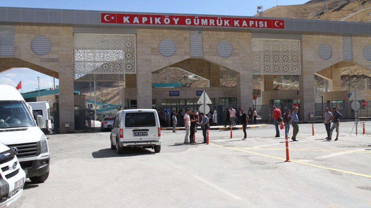 Kapıköy Gümrük Kapısı çift taraflı açıldı