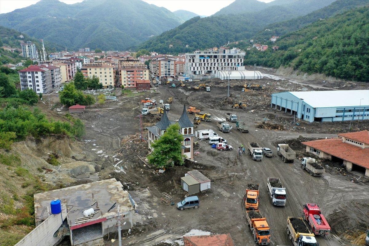 Kastamonu daki sel felaketinde spor tesisleri de zarar gördü #11