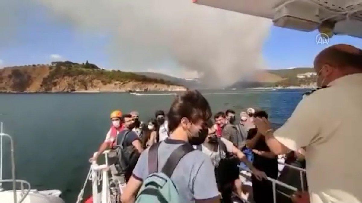 Kıyı Emniyeti, Heybeliada dan vatandaşları tahliye ediyor #2