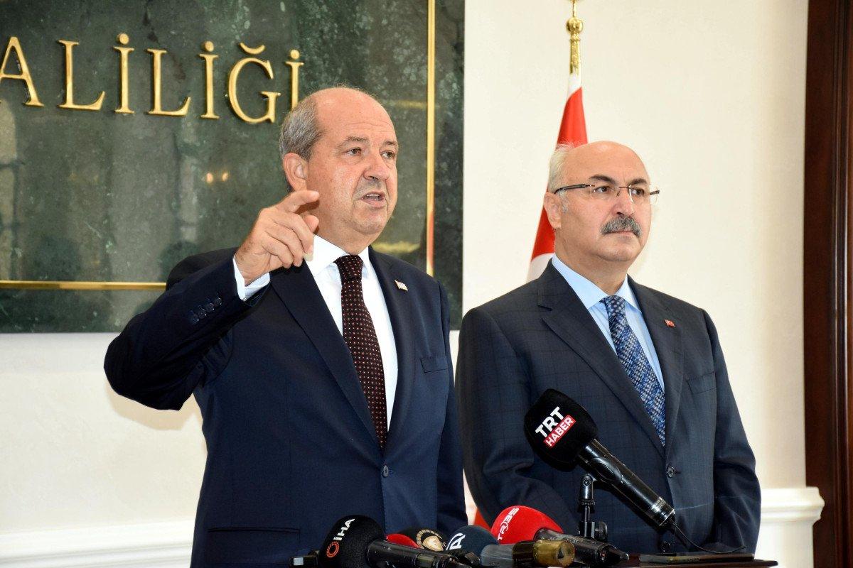 KKTC Cumhurbaşkanı Ersin Tatar: Türkiye ile iş birliğimizi önemsiyoruz #5