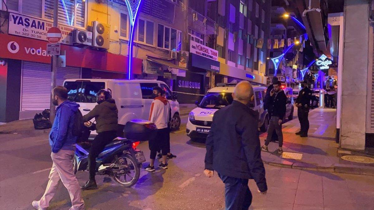 Kocaeli'nde 5. kattan düşen vatandaşın soruşturmasında 1 kişi tutuklandı