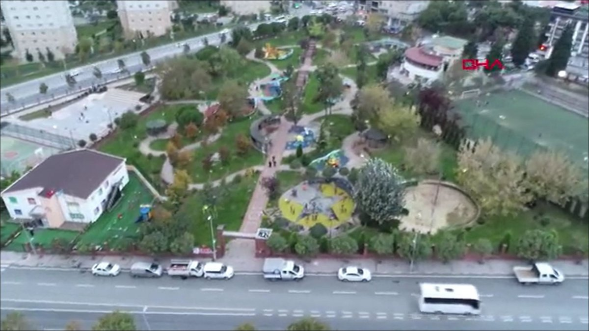 Küçükçekmece'de, çocuk parkındaki PKK/KCK sembollerine ilişkin davada hapis istemi #1