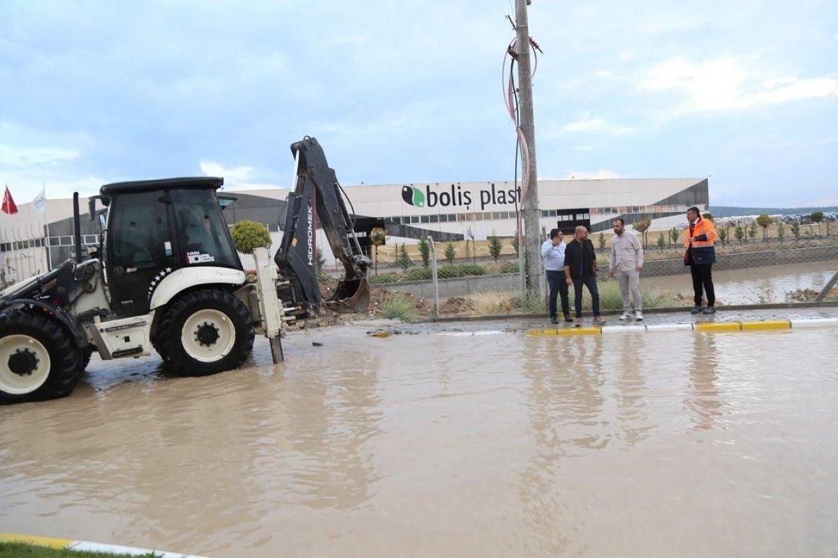 Kütahya da 4 fabrika su altında kaldı #1