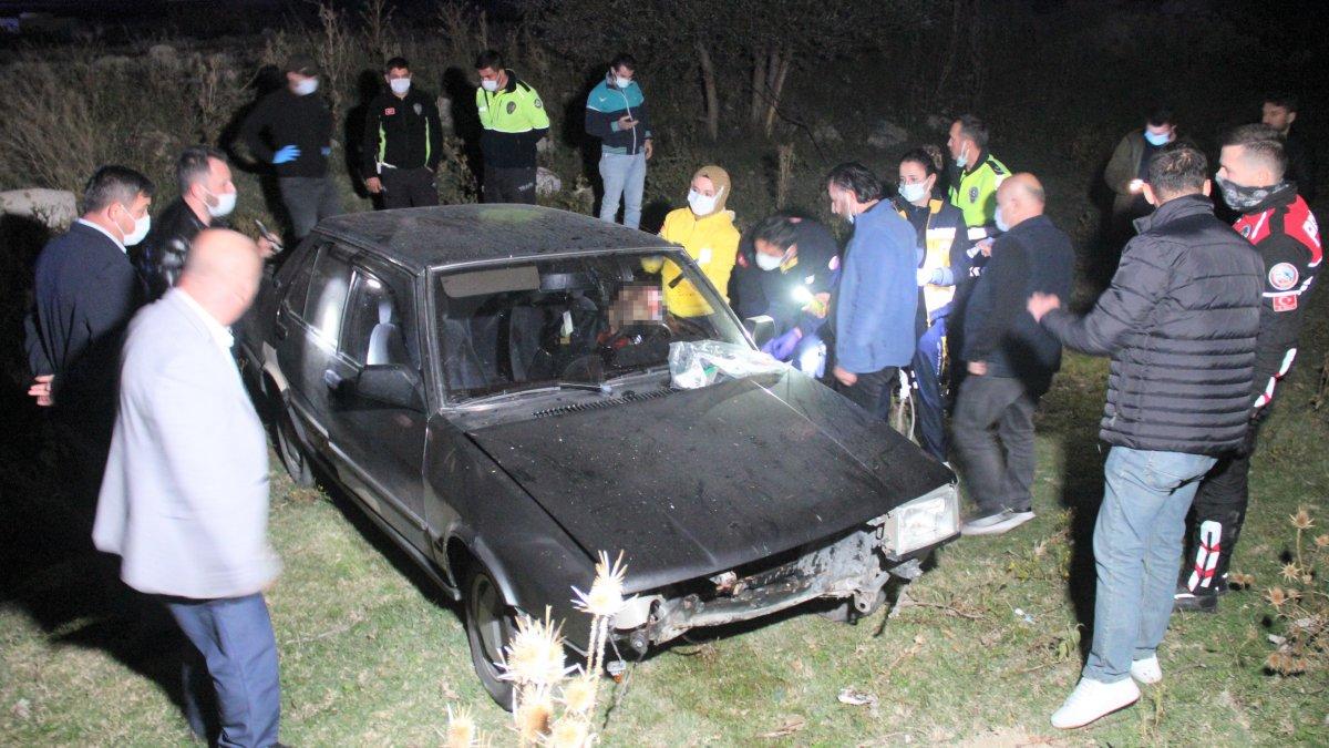 Kütahya'da bir şahıs, aracında başından silahla vurulmuş halde bulundu