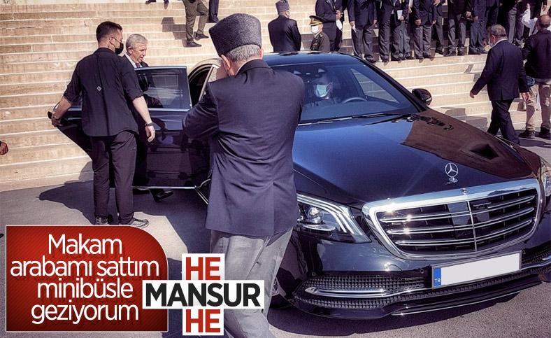 Mansur Yavaş'ın makam araçlarına binmiyorum sözleri gündemde