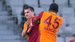 Galatasaray'da Kerem Aktürkoğlu'na saldıran Marcao, antrenmana çıkmadı