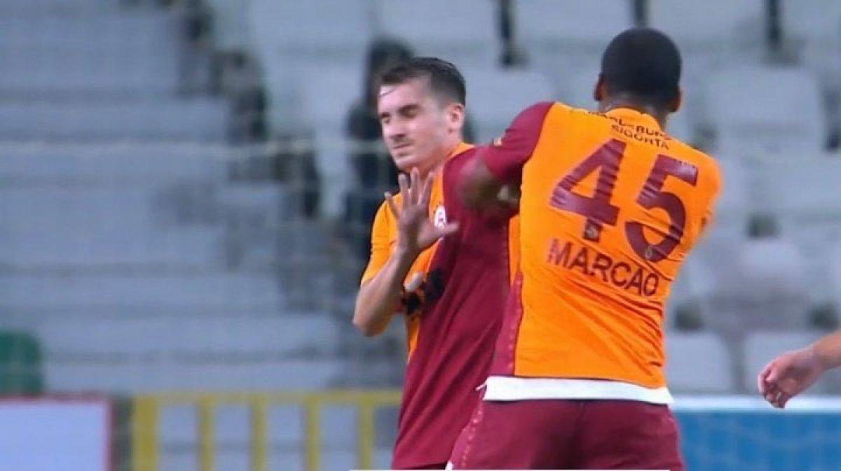 Galatasaray da Kerem Aktürkoğlu na saldıran Marcao, antrenmana çıkmadı #1