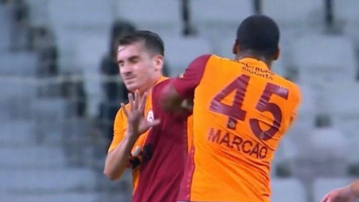 Marcao, antrenmanda yer almadı