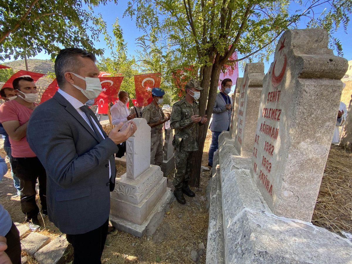 Mardin de PKK nın 28 yıl önce katlettiği 8 i çocuk, 26 kişi anıldı #2