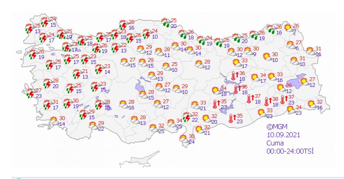 Marmara için sağanak ve kuvvetli rüzgar uyarısı #2