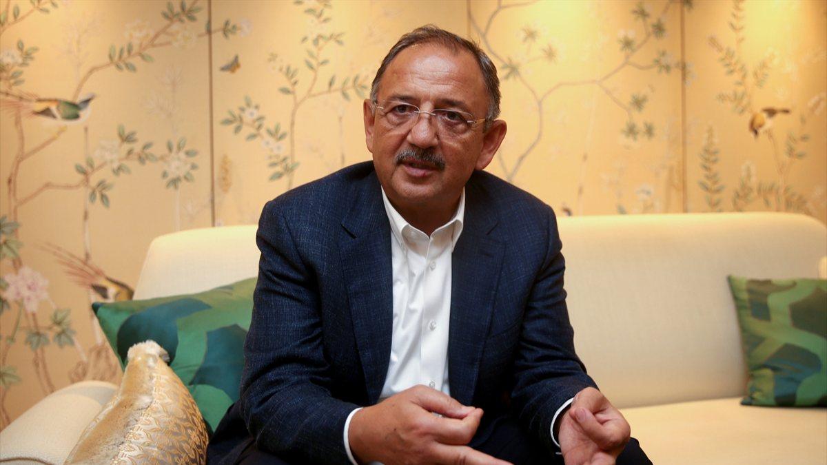 Mehmet Özhaseki: Bütün belediyelerimiz öğrencilerimize yardımcı olacak