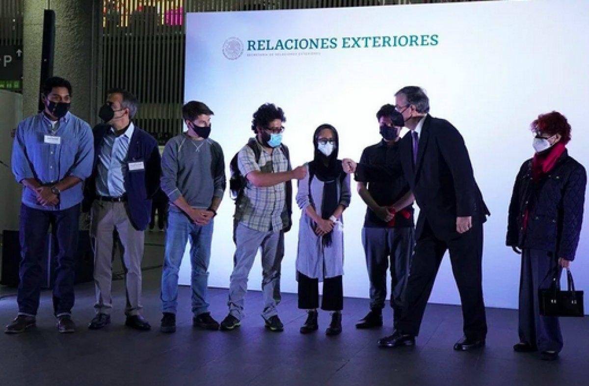 Meksika, Afganistan dan kaçan 124 gazeteciyi ülkeye kabul etti #2