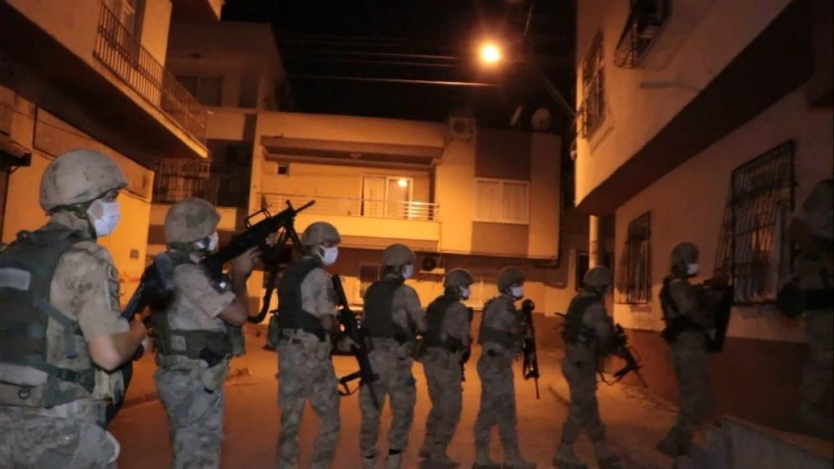 Mersin de PKK/KCK operasyonu: 1 gözaltı #1