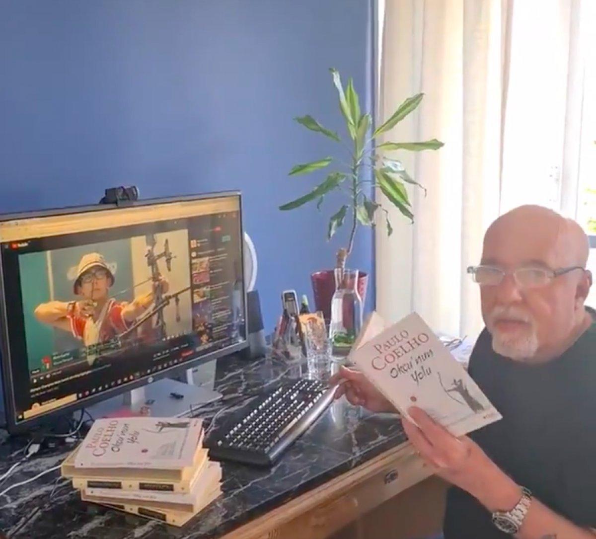 Mete Gazoz, Paulo Coelho ya teşekkür etti #1