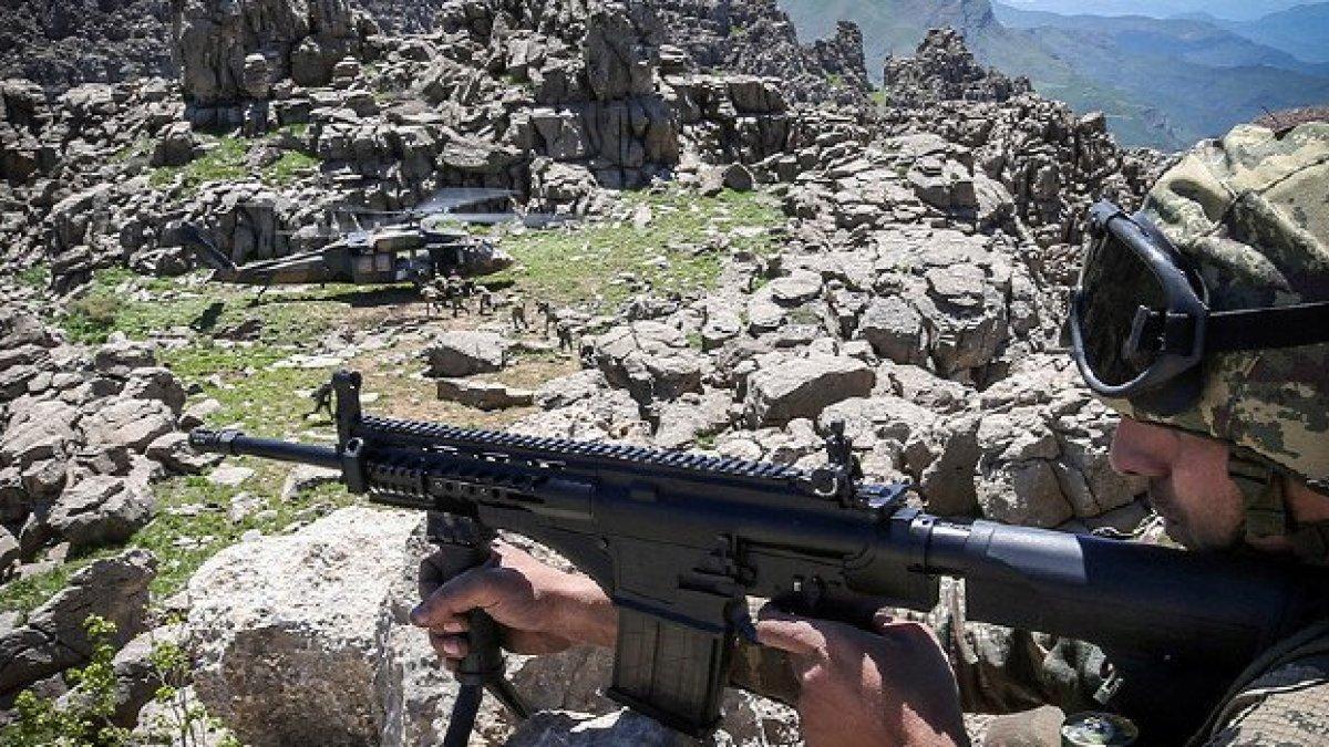 Metina bölgesinde 3 terörist öldürüldü