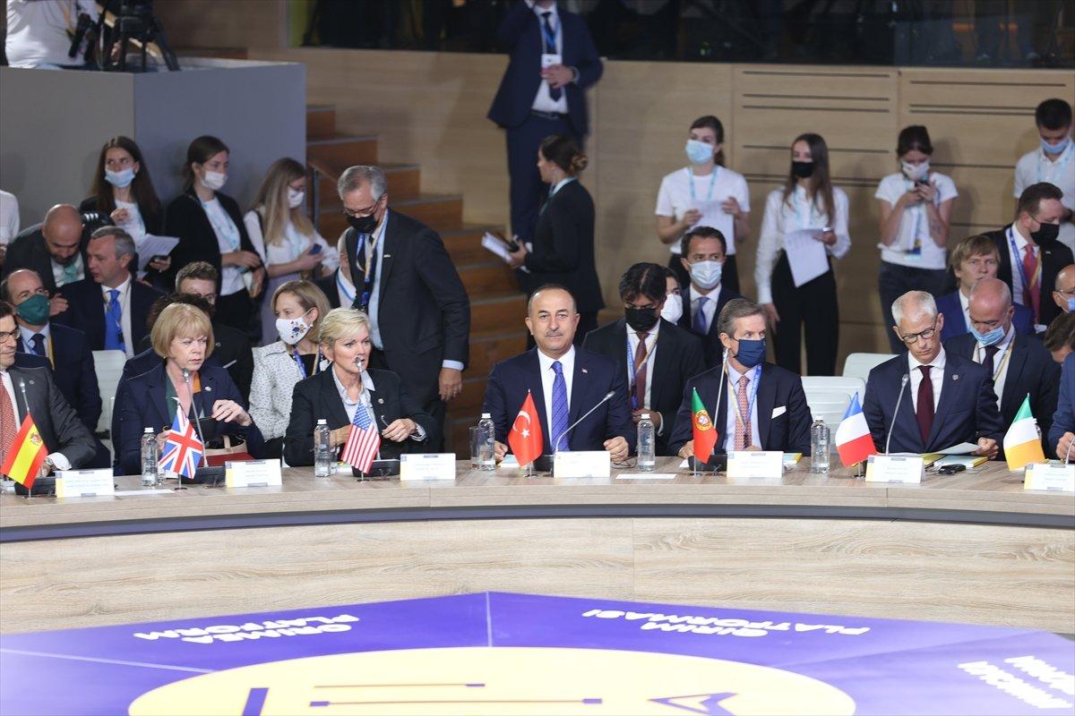 Mevlüt Çavuşoğlu: Kırım Ukrayna'dır #1