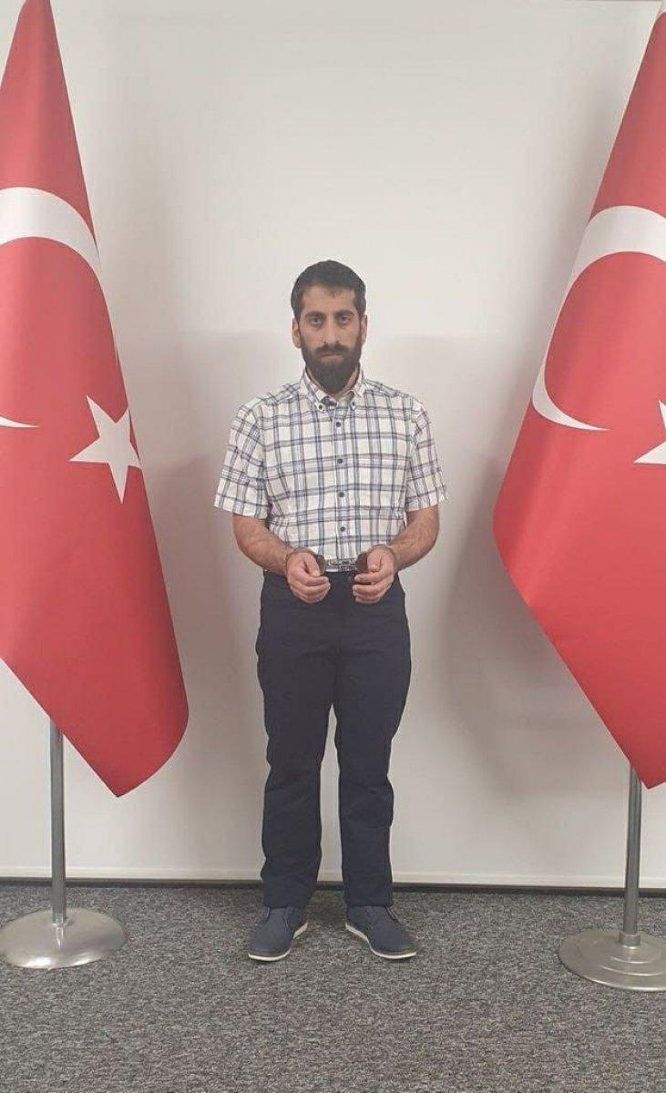 MİT in yakaladığı terörist Cimşit Demir tutuklandı #1