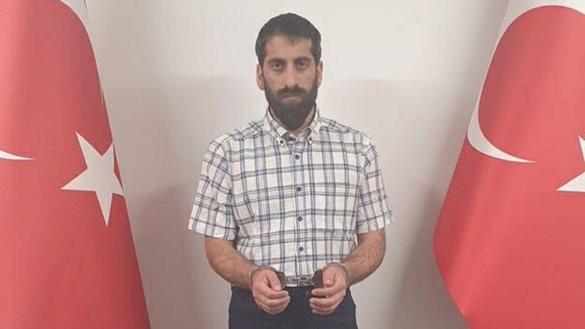 MİT'in yakaladığı terörist Cimşit Demir tutuklandı