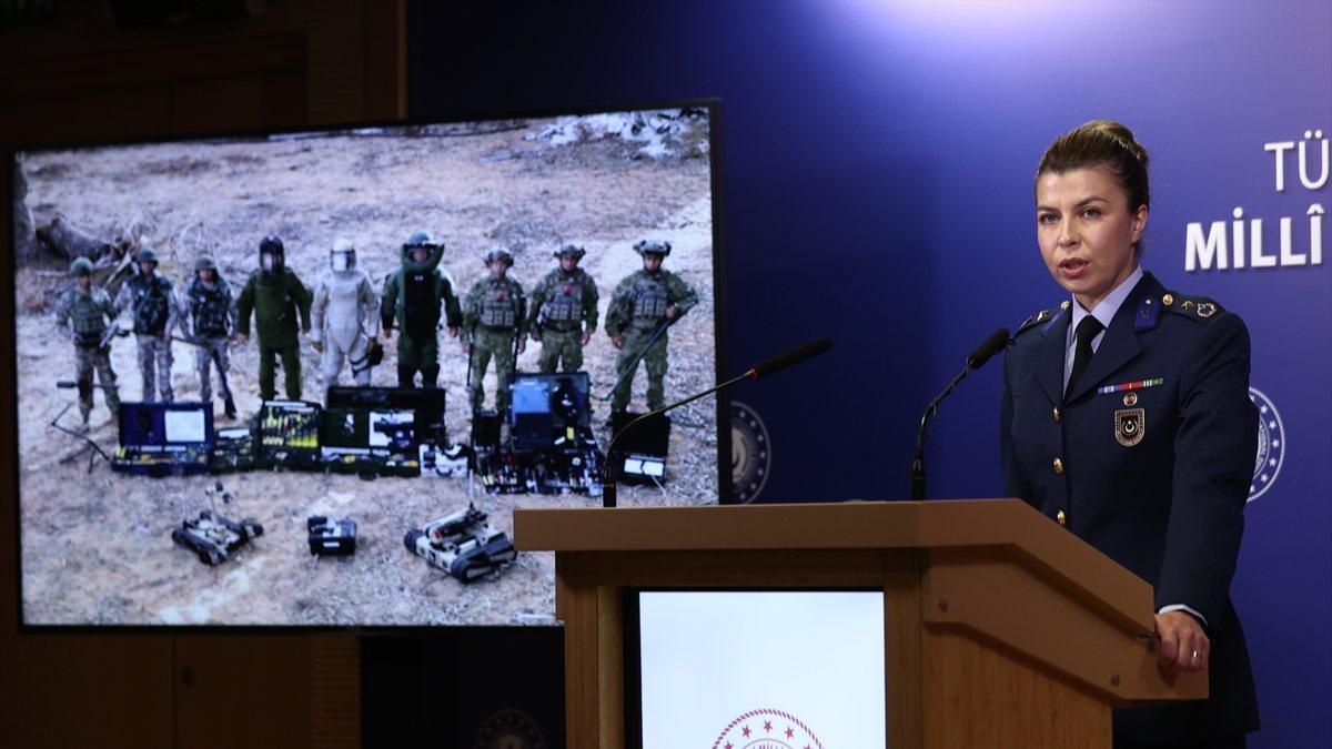 MSB: Eylül ayında Suriye'de 148 terörist öldürüldü