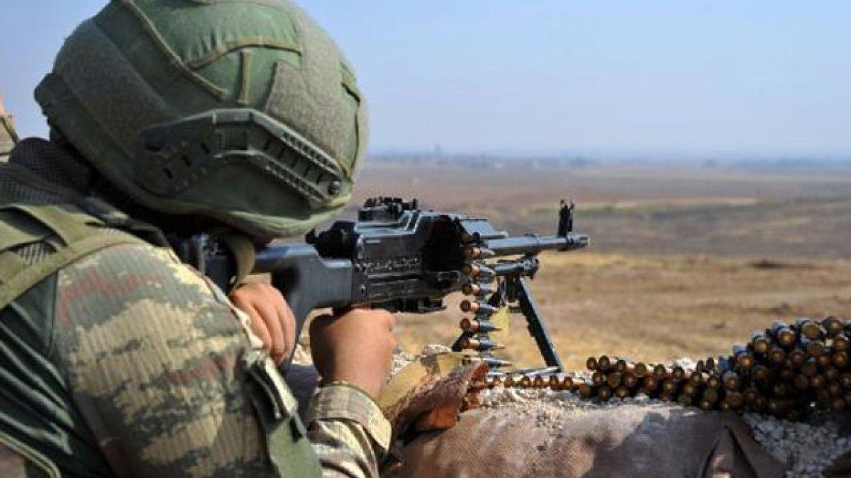 MSB: Irak'ın kuzeyinde toplam 4 terörist etkisiz hale getirildi