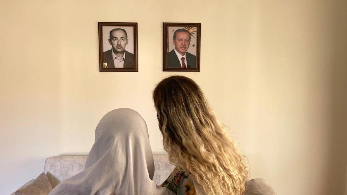 Muğla'da babasını Cumhurbaşkanı Erdoğan'a benzeten kadına unutulmaz sürpriz