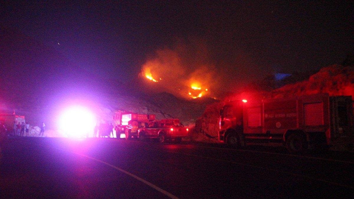 Muğla'da çıkan yangının söndürüldüğü bildirildi