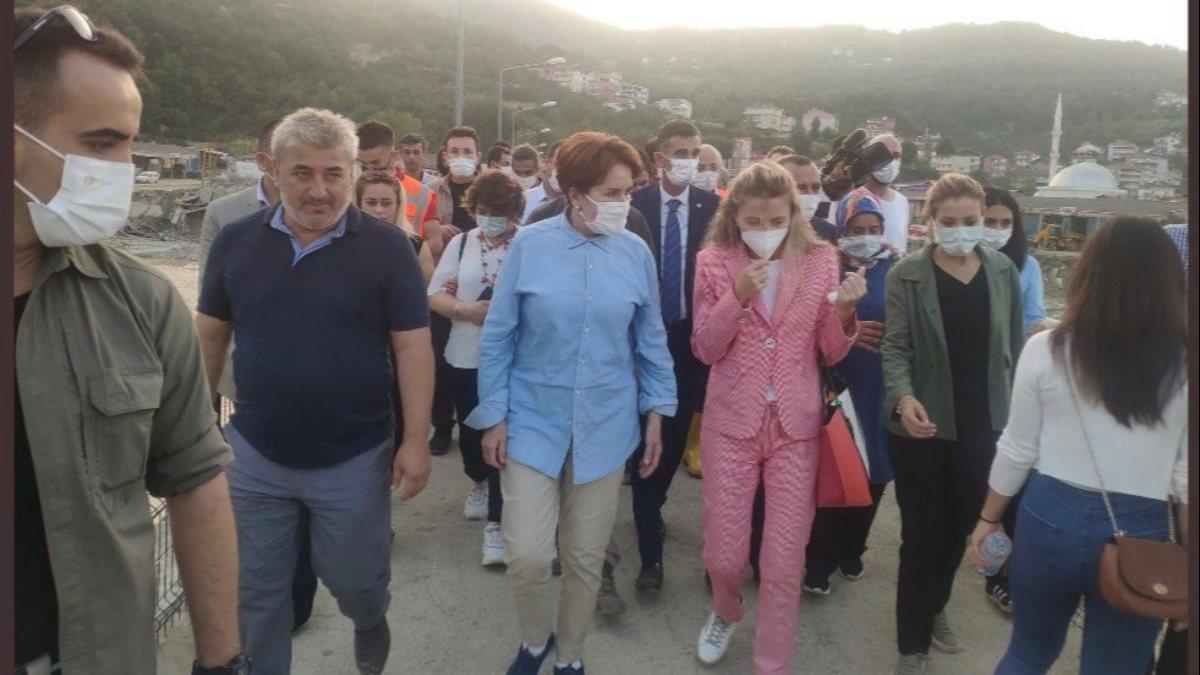 Murat Hazinedar'ın eşi Özlem Hazinedar, İyi Parti'ye katıldı