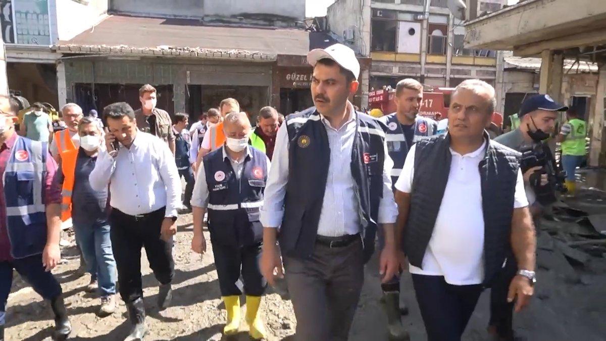 Murat Kurum: Bozkurt tayız, her mahalle ve sokağı tek tek inceliyoruz #1