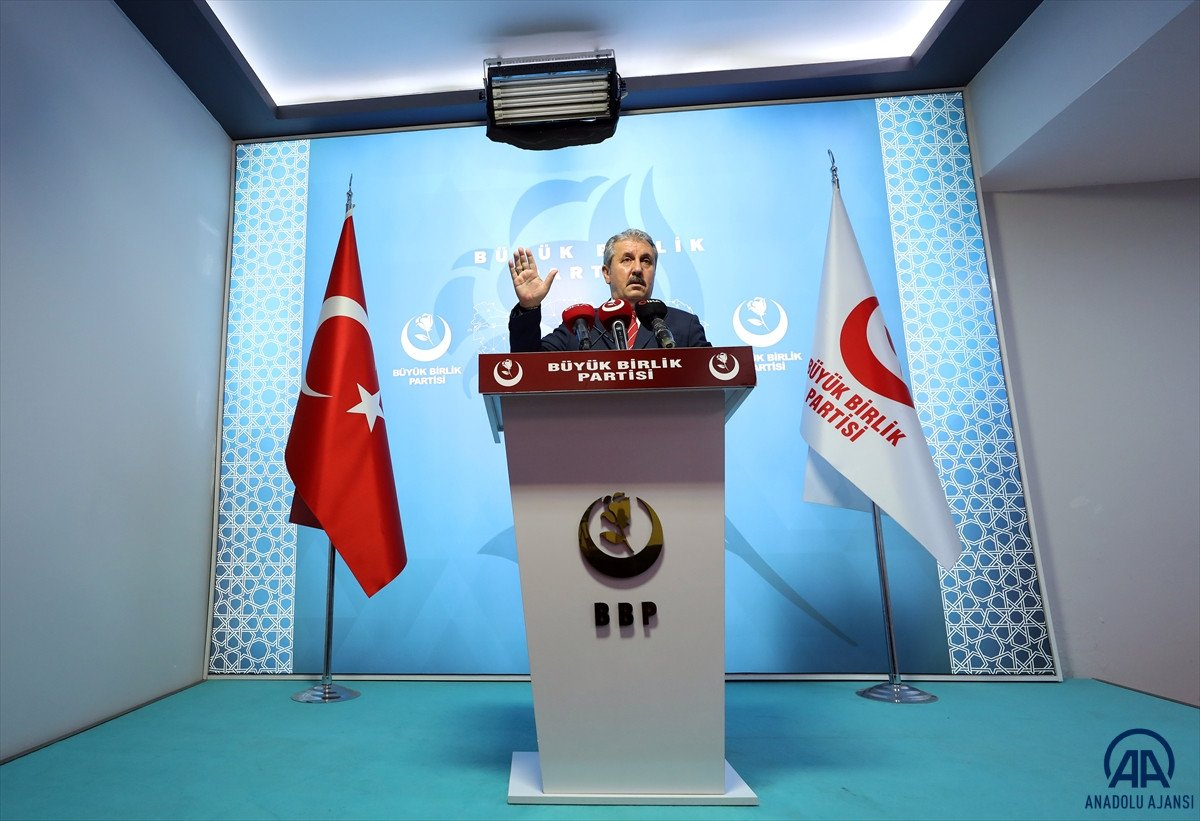 Mustafa Destici: Seçim barajını doğru bulmuyoruz #3