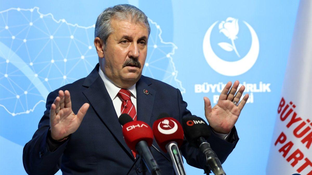 Mustafa Destici: Seçim barajını doğru bulmuyoruz
