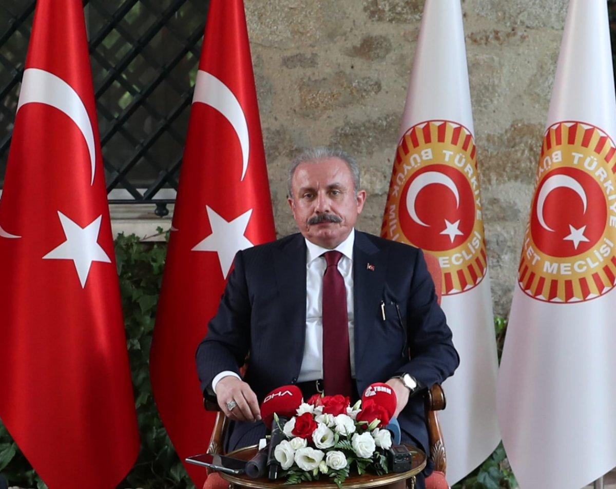 Mustafa Şentop: 2022 Haziran ına kadar seçim kanunlarının tamamlanması lazım #1