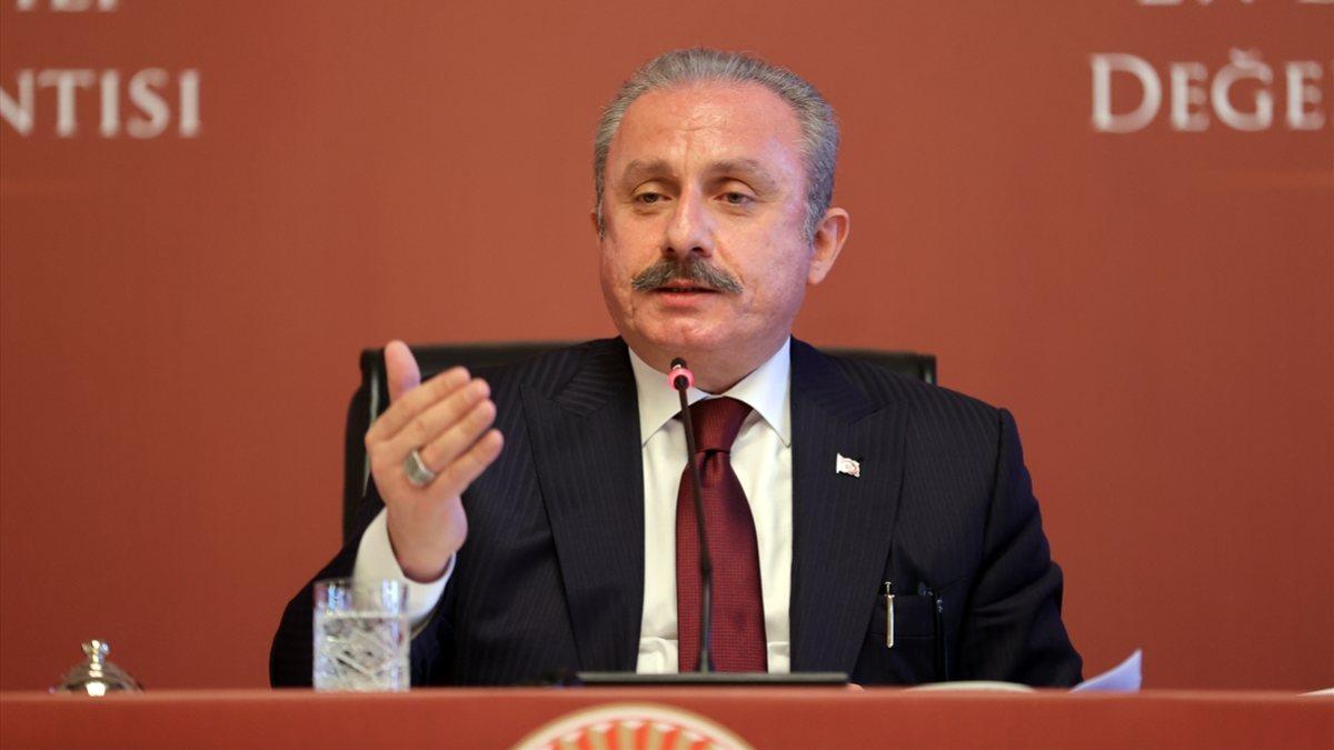 Mustafa Şentop: Yasama dokunulmazlığı tezkere sayısı 1359