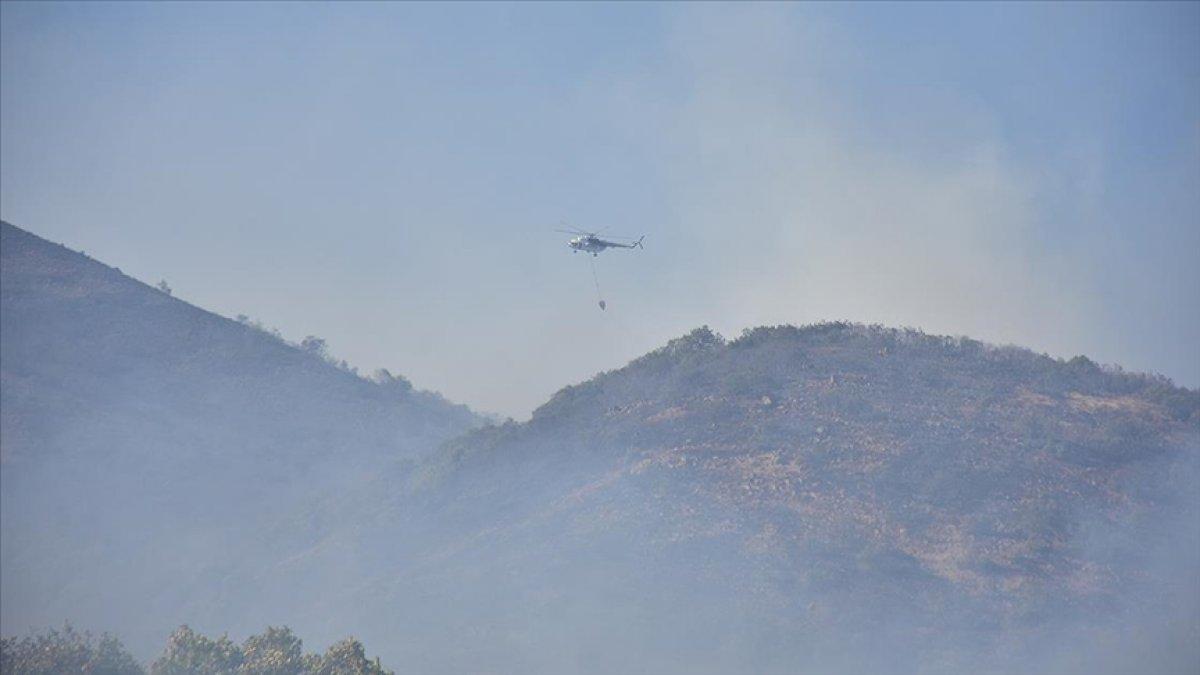 OGM: Orman yangınlarına müdahaleler sürüyor #4