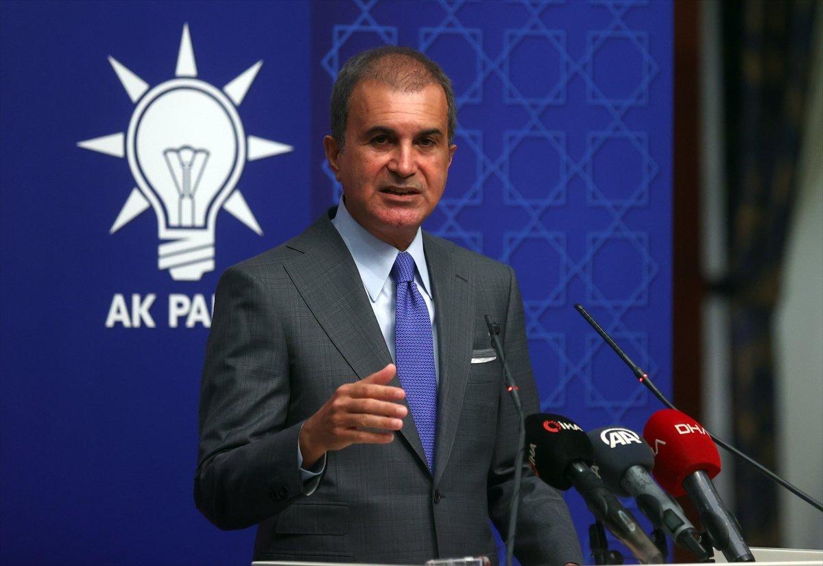 Ömer Çelik ten AK Parti MYK sonrası açıklama #1